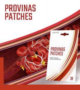 Hogyan működik Provinas Patches szedése? A termék összetétele.