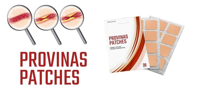 Lehetnek mellékhatások a Provinas Patches összetételhasználat után?